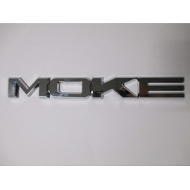 Monogramme MOKE chrome